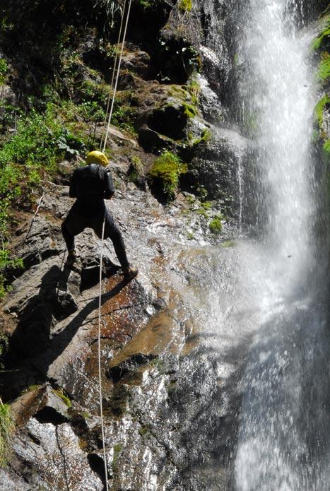 foto de escalada