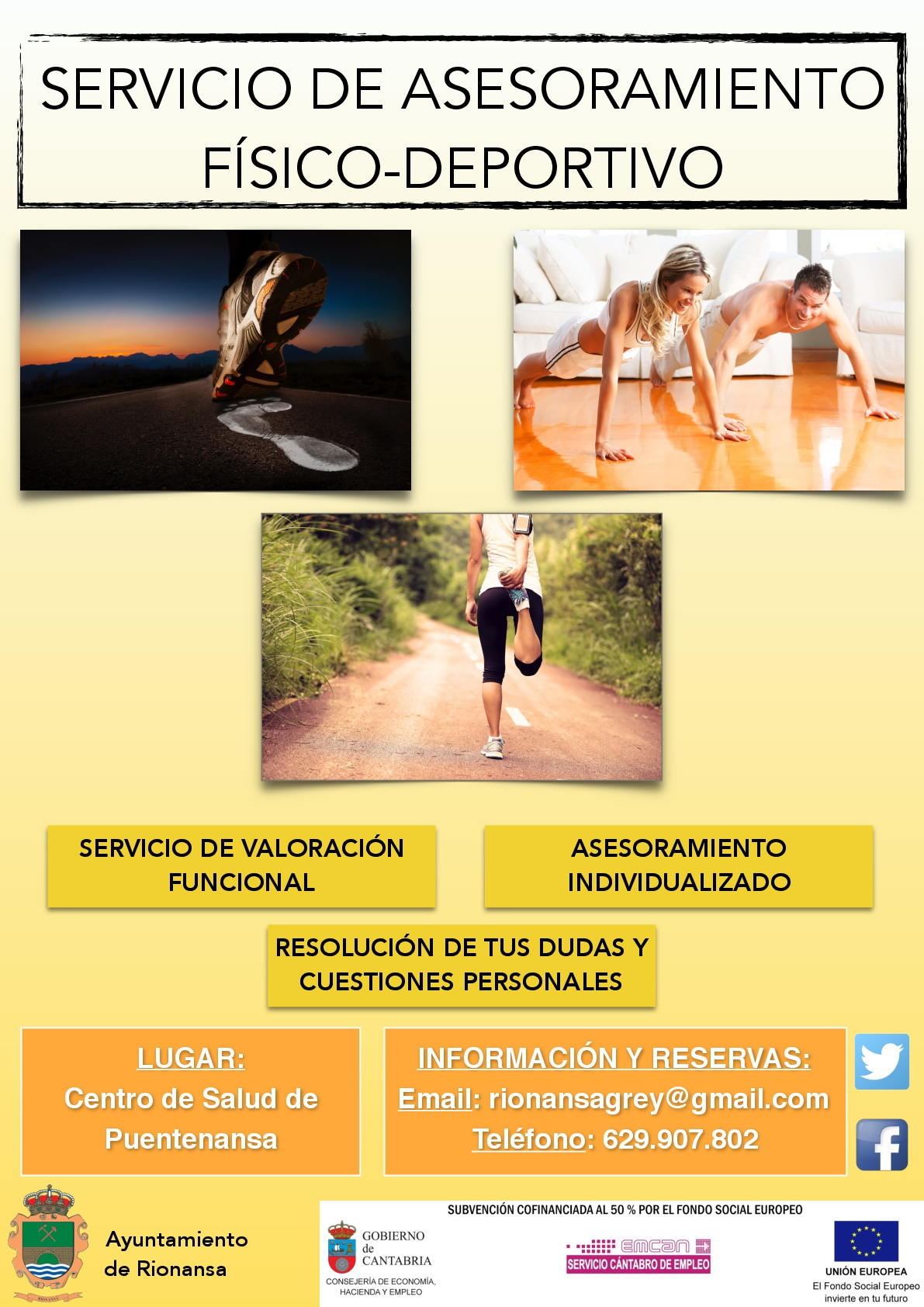Servicios de Asesoramiento Físico-Deportivo