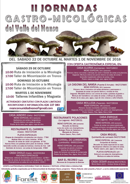 II Jornadas Gastro-Micológicas del Valle del Nansa
