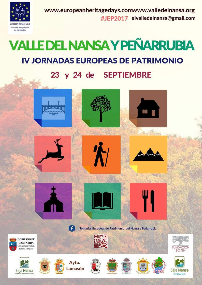 Cartel IV Jornadas Patrimonio 2017